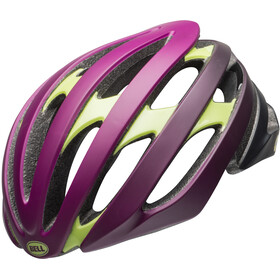 Bell Stratus MIPS casco per bici giallo/viola